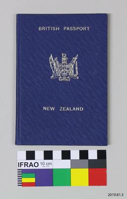 Passport: William Close