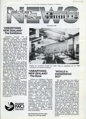 Magazine: Canterbury Museum News
