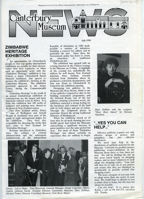 Magazine: Canterbury Museum News; Jul 1990; 2019.94.117
