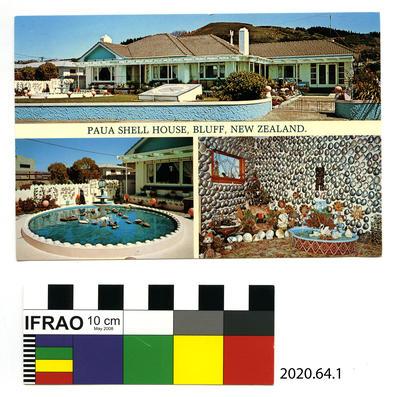 Postcard: Paua Shell House
