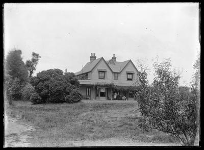 Glass Plate Negative: Fownhope House