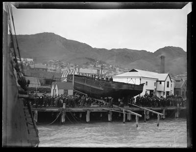Glass Plate Negative: Andersons Dredge
