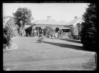 Glass Plate Negative: Merchitson, Anderson's House