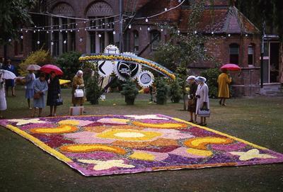 35mm Colour Slide: Floral Festival, Christchurch 1968