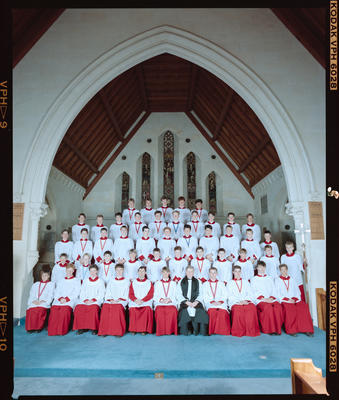 Negative: Christ's College Chapel Choir 1990