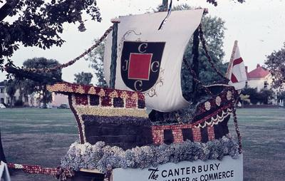 35mm Colour Slide: Floral Festival, Christchurch 1959