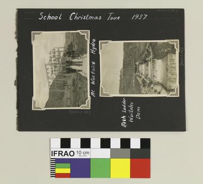 Photograph Album: School Christmas Tour 1937