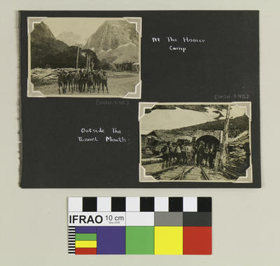 Photograph: Outside the Tunnel Mouth