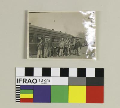 Photograph: On Oamaru Station