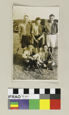 Photograph: Five A Side Tournament at Methven, 1939; 1939; 2020.7.65