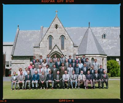 Negative: Christ's College Staff 1990