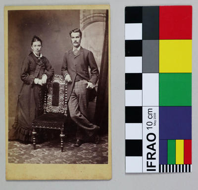 Photograph: Man and Woman
