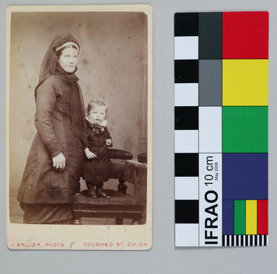 Photograph: Woman and Child