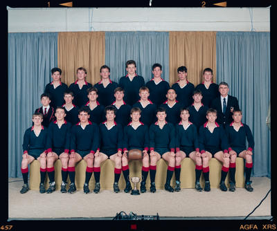 Negative: St Bede's 2nd XV Rugby 1990