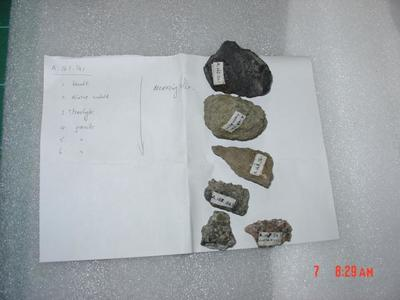 Rocks: Various