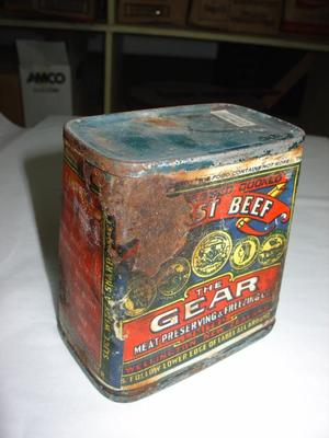 Tin: Preserved Beef