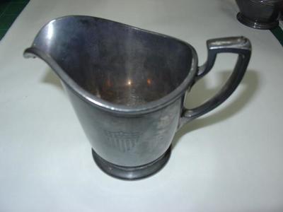 Milk Jug: Silver