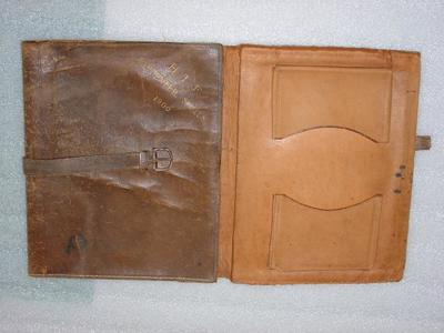 Writing Case: Leather
