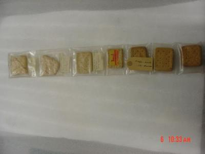 Sledge Biscuit Samples
