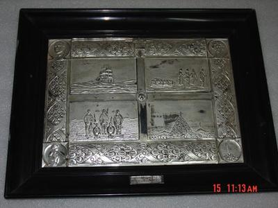 Plaque: Silver Plated