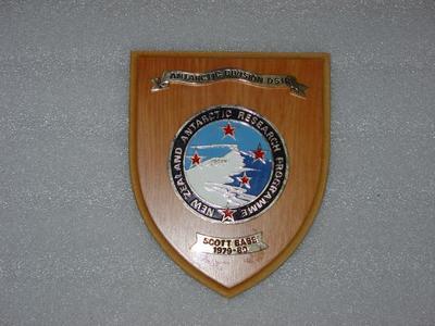 Plaque: Antarctic Division DSIR