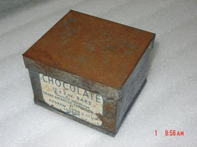 Tin: Chocolate