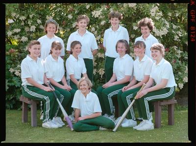 Negative: St Margaret's Softball Team 1990