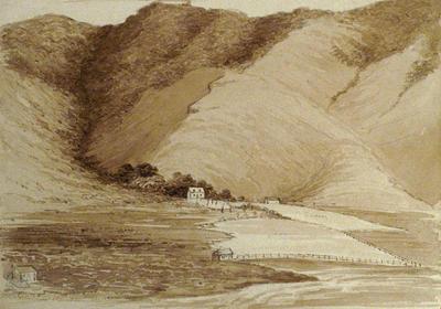 Painting: Mr Cholmondeley's farm in Port Albert