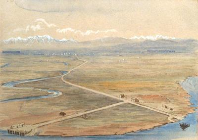 Painting: The Plain around Christchurch