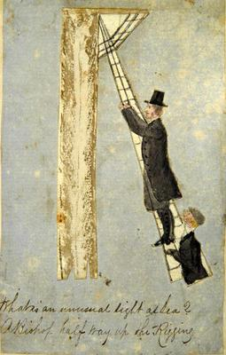 Painting: Illustration from Egmont Times 1856