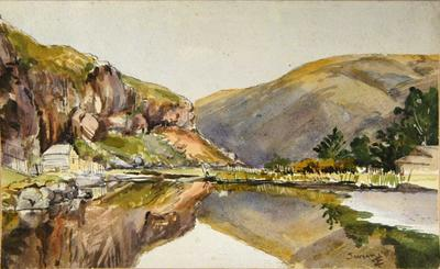 Painting: Sumner, 1886