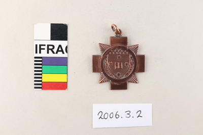Medallion: New Zealand Universities Men's Singles Champion 1902