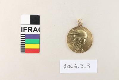 Medal: Le Touquet Casino de la Forêt Lawn Tennis Championship 1905