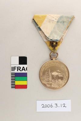 Medal: XI Internationales Lawn-Tennis-Tournier in Marienbad