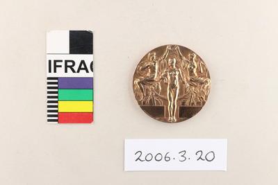 Medal: Olympic Games Stockholm 1912 - Indoor [Tennis] Singles Bronze; 1912; 2006.3.20