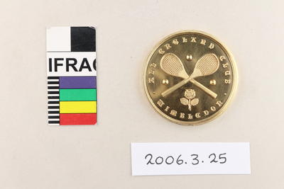 Medal: All England [Lawn Tennis and Croquet] Club Wimbledon Four-Handed Championship 1914; 1914; 2006.3.25