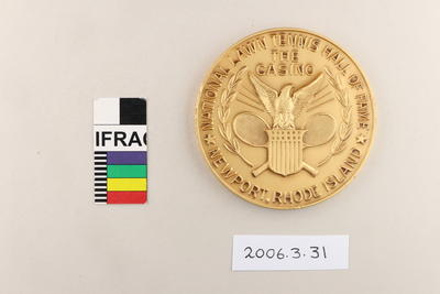 Medal: National Lawn Tennis Hall of Fame The Casino Newport Rhode Island