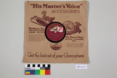 Records, gramophone
