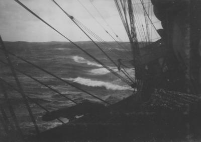 Photograph: Terra Nova in Rough Seas
