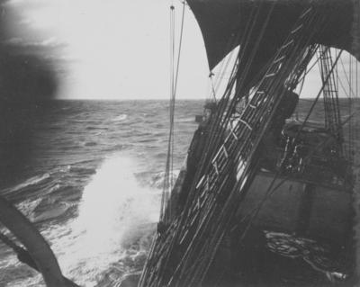 Photograph: Terra Nova in Rough Seas