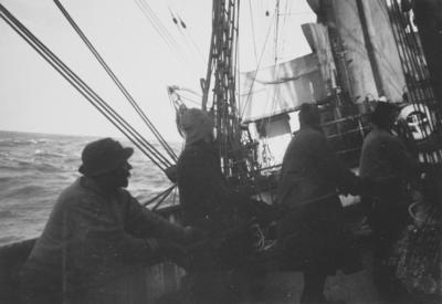 Photograph: Making Sail