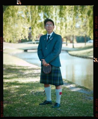 Negative: St Andrews College Unnamed Prefect 1990