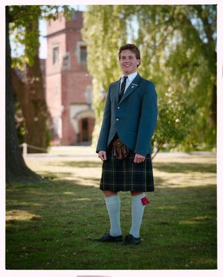 Negative: St Andrews College Mr Tennant Prefect 1990