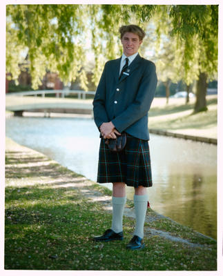 Negative: St Andrews College Mr Woolley Prefect 1990