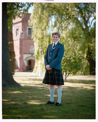 Negative: St Andrews College Mr McNee Prefect 1990