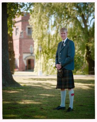 Negative: St Andrews College Mr Pirie Prefect 1990