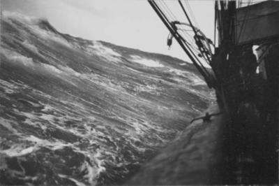 Photograph: Terra Nova and a Large Wave