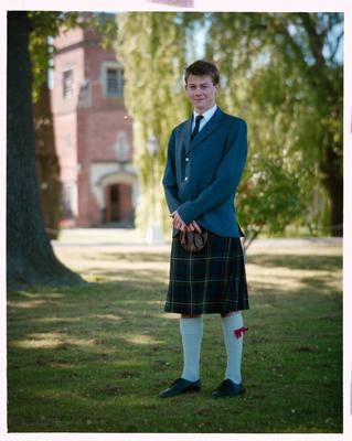 Negative: St Andrews College Mr Forgie Prefect 1990