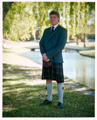 Negative: St Andrews College Mr Pratt Prefect 1990