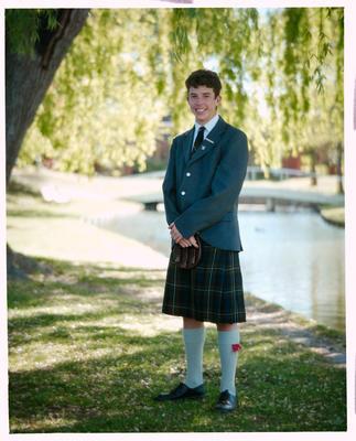 Negative: St Andrews College Mr Mackintosh Prefect 1990